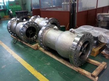 Pressure test of Triple offset butterfly valve - GALLERY